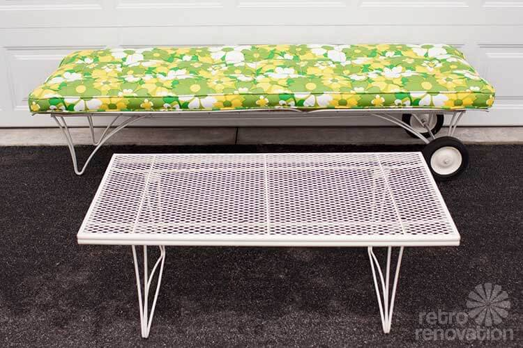 Coffee Table Retro Patio