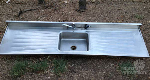 Pullman Kitchens And This Vintage Douglas Crestlyn Drainboard Sink Retro Renovation