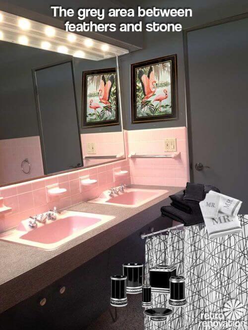 masculine-pink-vintage-bathroom