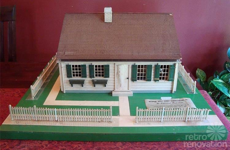 vintage engineered home model - Dream House Model