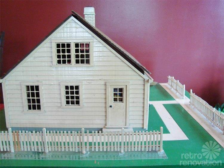 vintage house model - Dream House Model