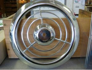 Bathroom Exhaust Fan Cover big find: nos chrome emerson pryne exhaust fan grille covers