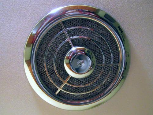 Big Find Nos Chrome Emerson Pryne Exhaust Fan Grille