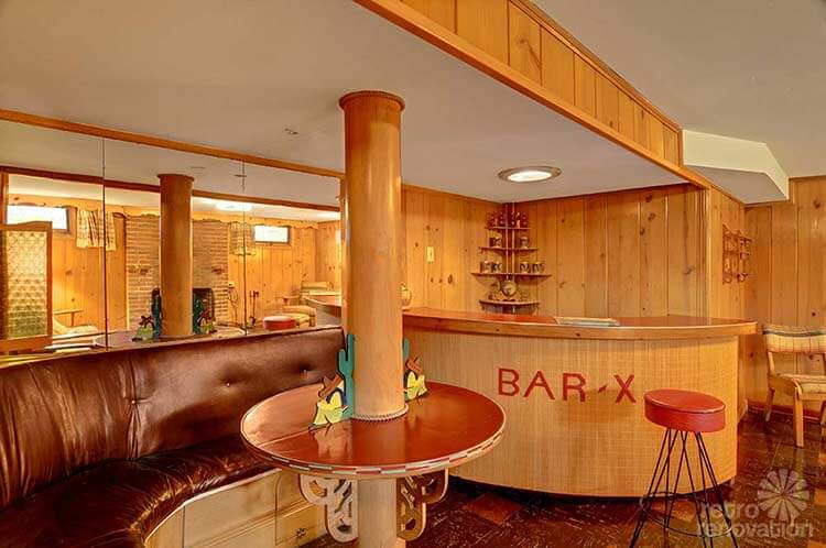 Same owners for 70 years this 1940 seattle time capsule house has the most amazing basement Home bar furniture seattle