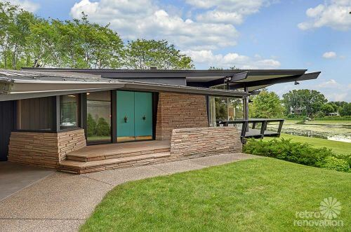 mid century modern minneapolis house