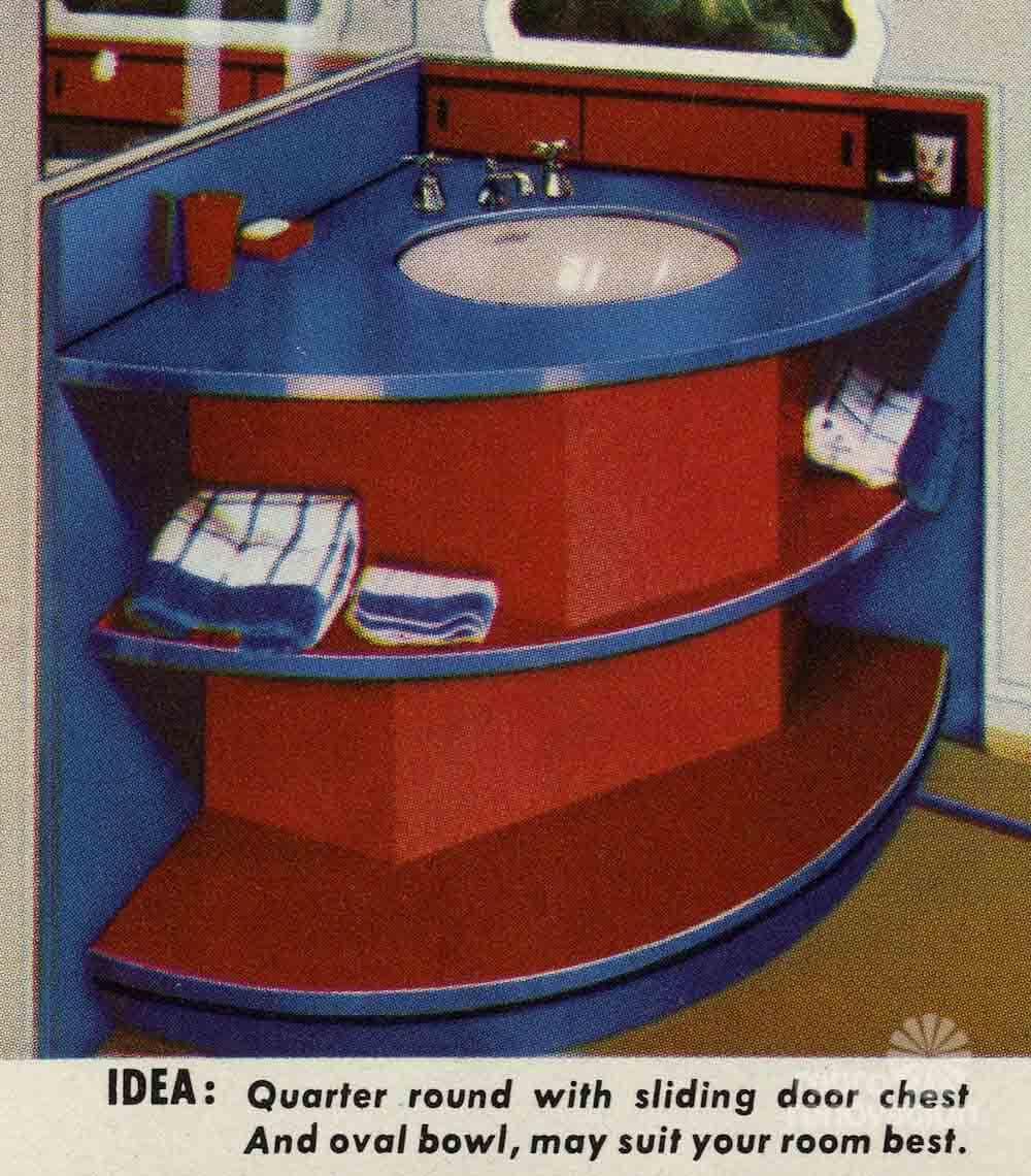 10 Bathroom Vanity Designs From Formica