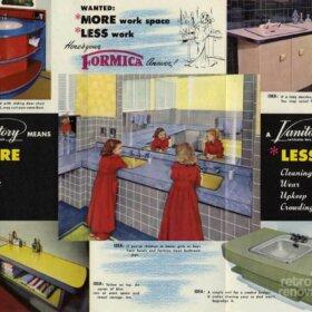 catalog of retro vintage formica bathroom vanities