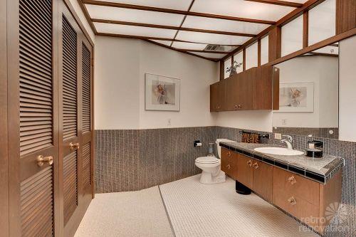 retro bathroom vanity