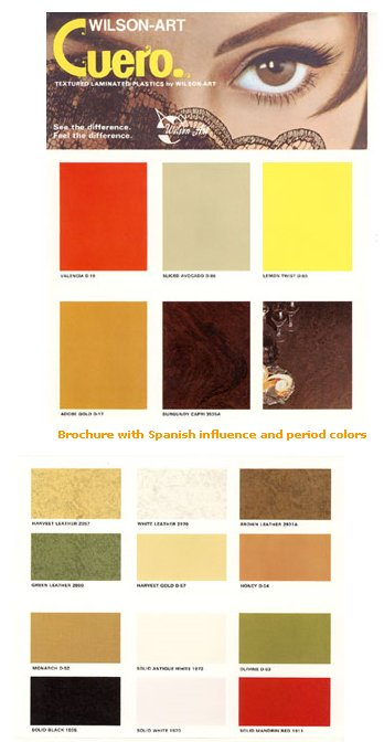 harvest gold laminate