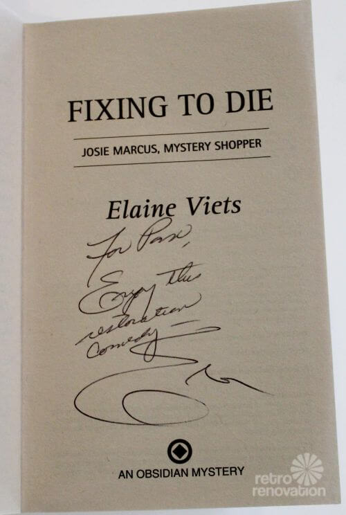 fixing to die elaine viets