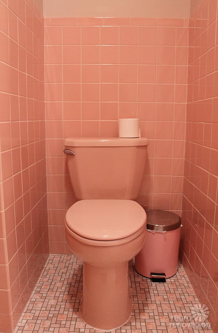 12 Reasons I Love My New Retro Pink Bathroom Kate S Pink
