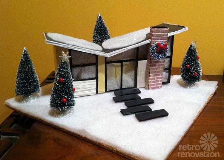 Cake Decorating Miniature Houses