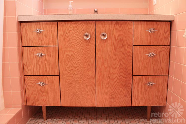 Built In Bathroom Vanities 15 midcentury modern and retro style bathroom vanities - built new
