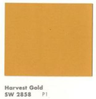Retro Renovation S 2014 Color Of The Year Harvest Gold