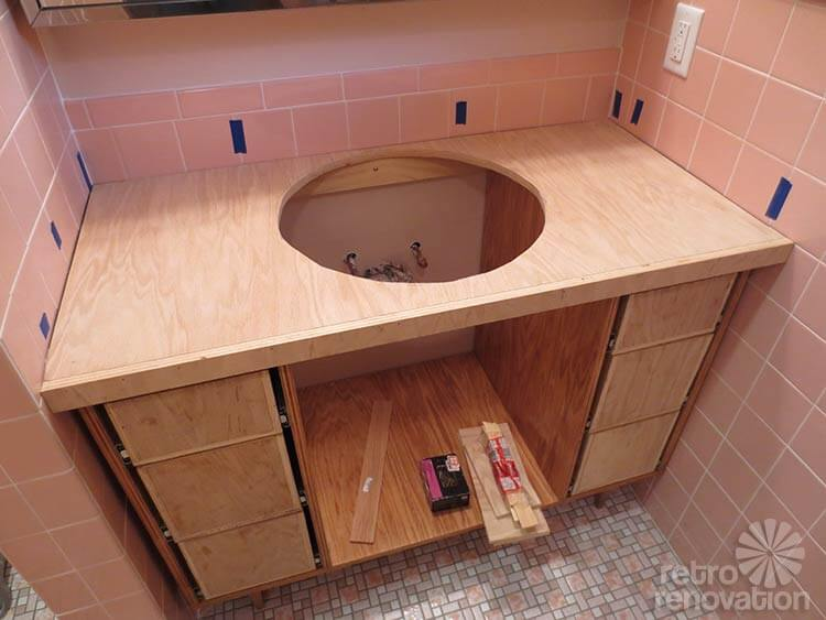 how to build a countertop frame kate builds a laminate countertop she declares this 498