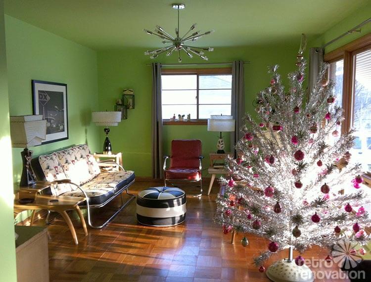vintage christmas tree - Retro Christmas Trees