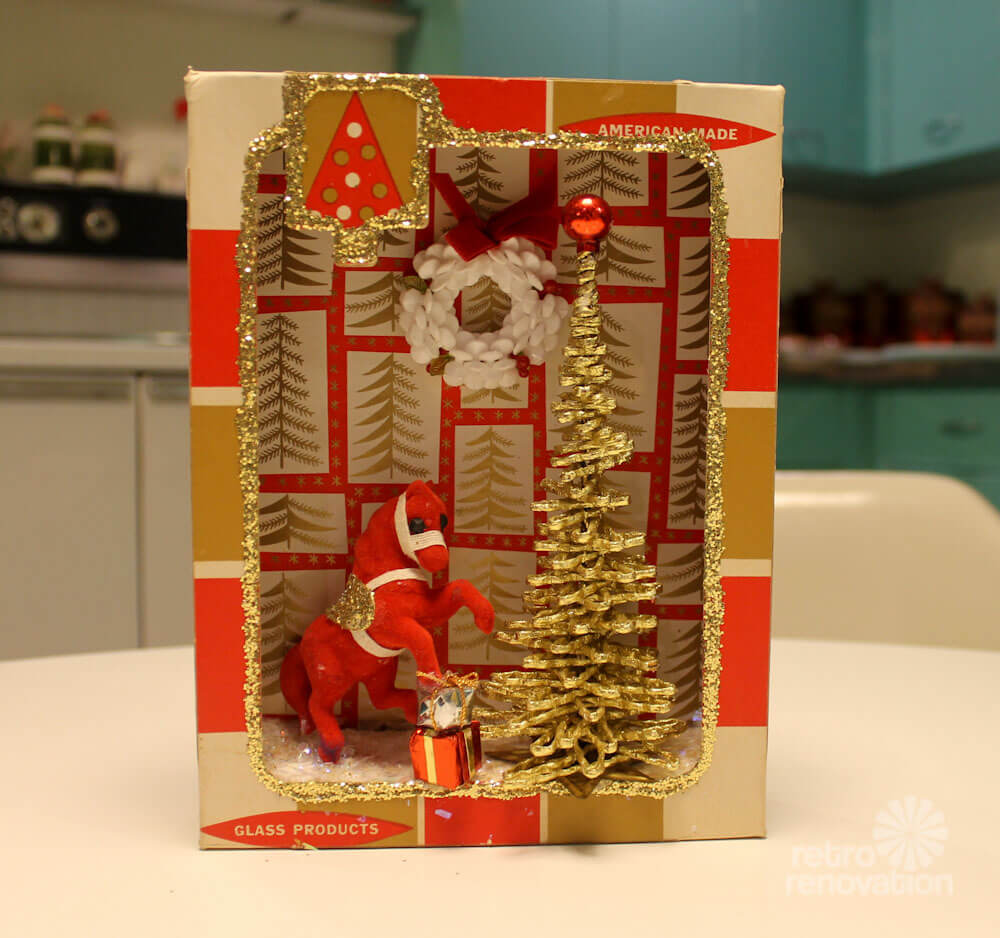 Vintage Christmas Craft Ideas Part - 41: Christmas Diorama ...