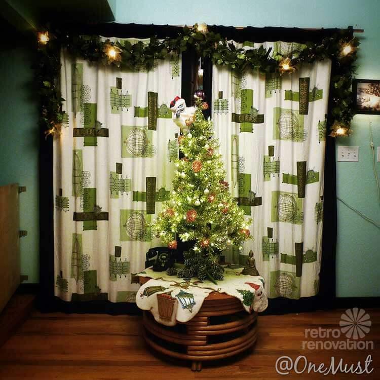 Retro Christmas Tree Lights