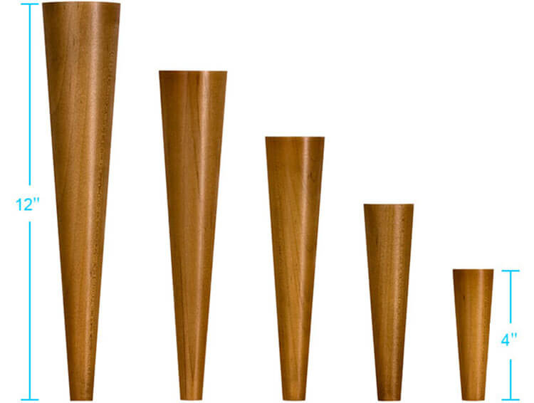 Exceptional Mid Century Furniture Legs