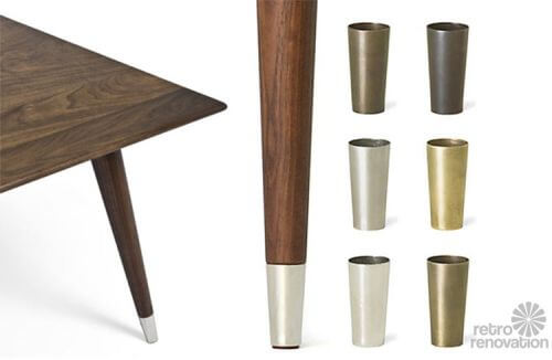 Mid-century-brass-furniture-leg-tips