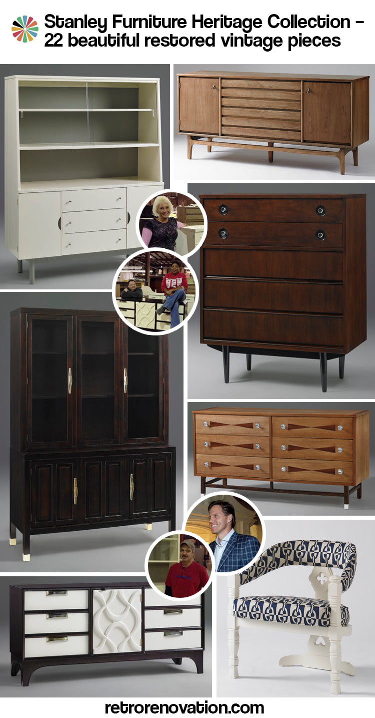 Restored, vintage Stanley Furniture Heritage collection - An ...