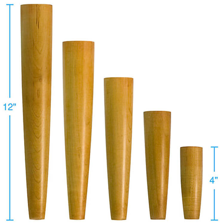 4 Sources For Retro Furniture Legs. Danish_modern_furniture_legs_wegner.  Wegner Style From Tablelegs.com.