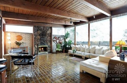 mid-century-living-room-fireplace
