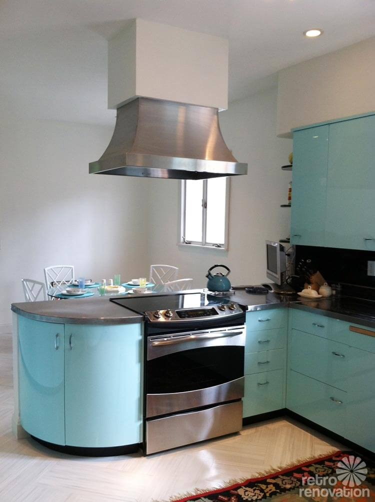 Caroline S Mid Century Home With Dreamy St Charles Kitchen Cabinets