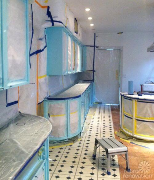 painting-vintage-kitchen-cabinets