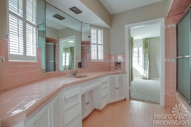 1954 texas time capsule house original cork floors. Black Bedroom Furniture Sets. Home Design Ideas