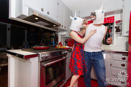 unicorn-people-in-retro-kitchen