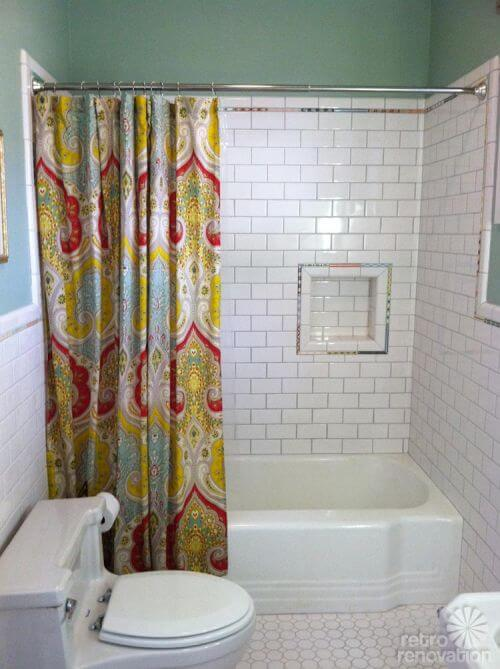 Robert And Carolines Mid Century Home With Dreamy St Charles - Vintage modern bathroom