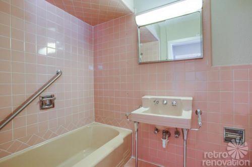 vintage-pink-bathroom-tiled