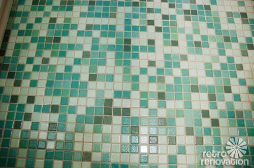 aqua-green-mosaic-tile-floor