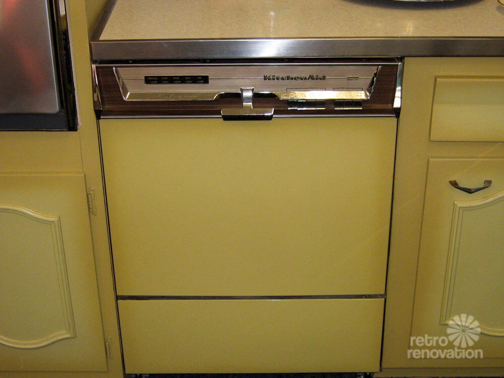 Kitchenaid Dishwasher Sale never used! a 1960s harvest gold kitchen for sale in worcester