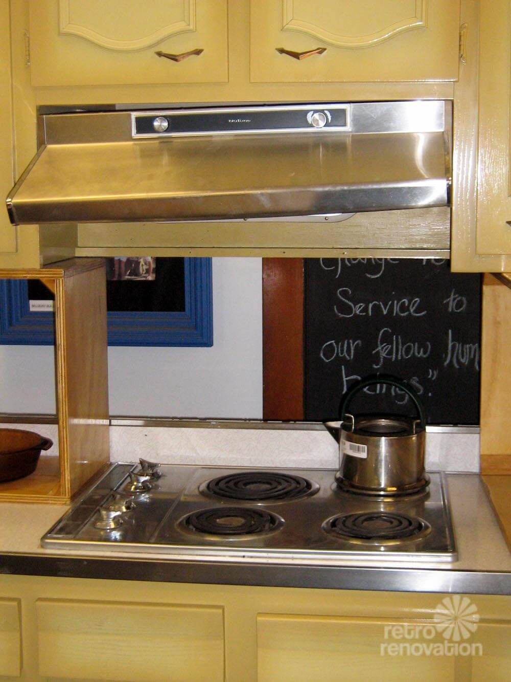 never used! a 1960s harvest gold kitchen for sale in worcester