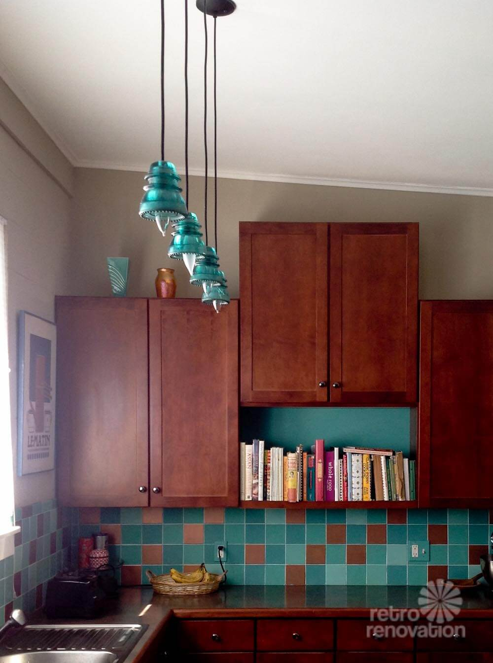 Lori S Diy Insulator Pendant Lights Retro Renovation