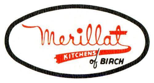 original merillat logo 1946