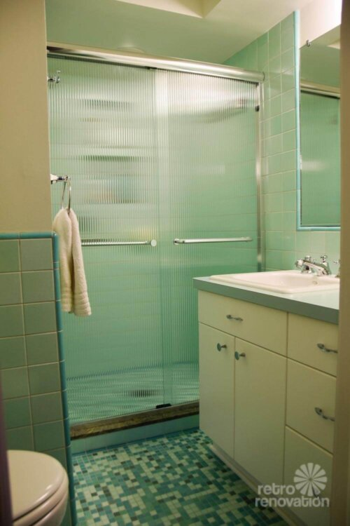 mid century bathroom. Mint Green Bathroom Rebecca Mid Century M