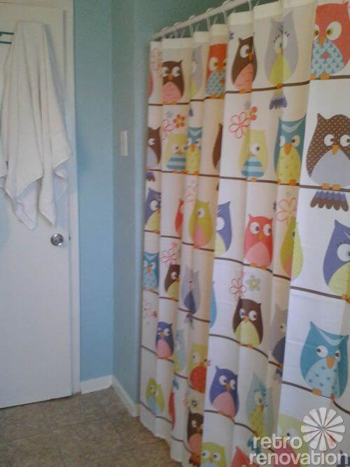 owl-shower-curtain