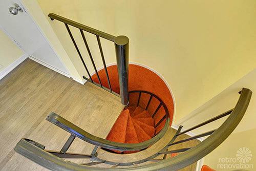 retro-carpeted-spiral-staircase