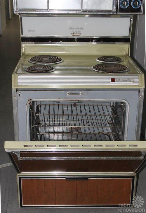 retro-sears-kenmore-stove-yellow
