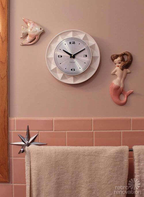 Bathroom Wall Clocks: Replacing The Movement And Hands On A Vintage Electric