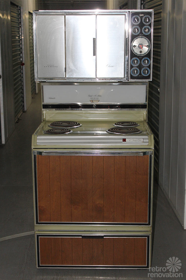 Rare Vintage Sears Kenmore Range With Pivoting Doors