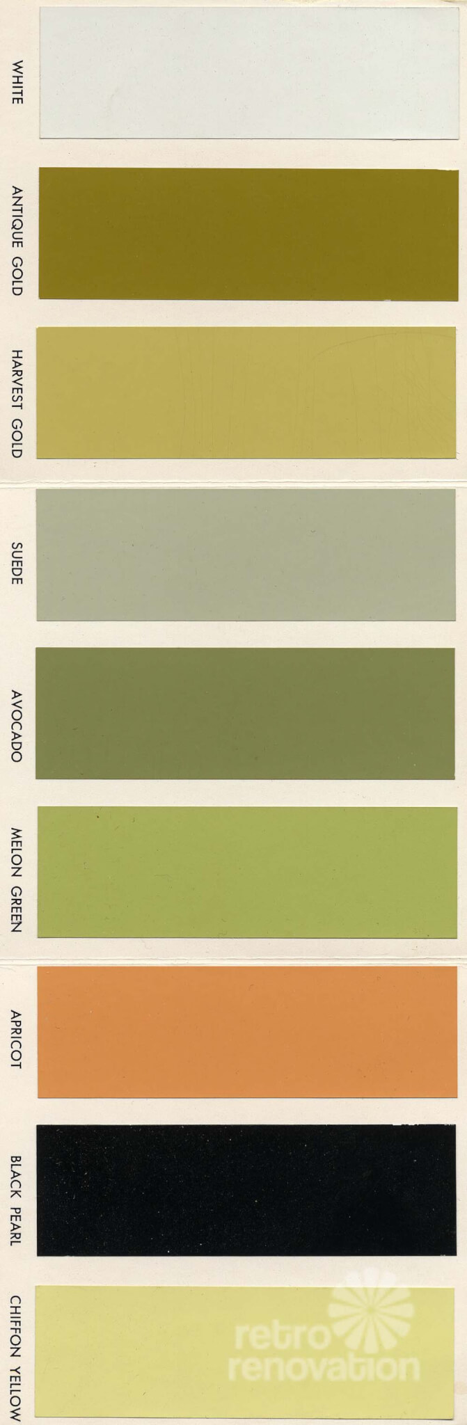 18 colors for 1960s st charles steel kitchen cabinets retro renovation - Kitchen paint colors ...