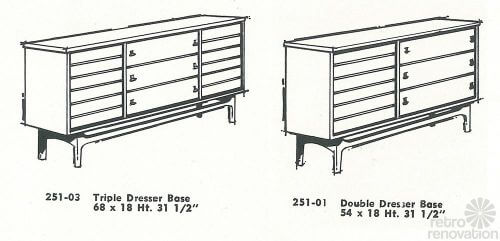 Vintage-stanley-furniture-dressers