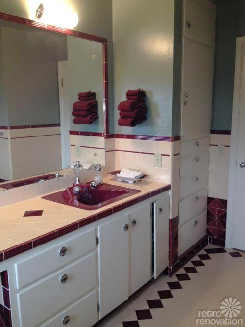 mid-century-tiled-vanity-top