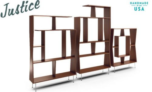 joybird furniture justice wall unit