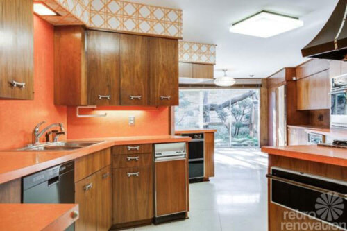 orange-laminate-countertops-1960s