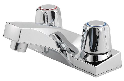 14 four-inch-center bathroom sink faucets suitable for a postwar ...